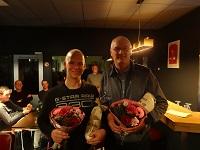 Lynn Bongers ontvangt Berend-Botje-trofee